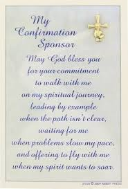 confirmation poems
