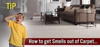 get rid of carpet smells
