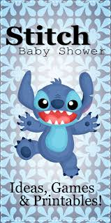 Lilo And Stitch Baby Shower Games And Printables Temas De Baby