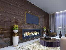 wall in the luxurious living room