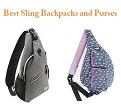 top 15 best sling backpacks and purses