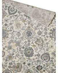 """Hot Sale: Hauck Ivory/Gray Area Rug Bungalow Rose Rug Size: Rectangle 5'3""""  x 7'6"""""""