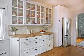 small kitchen cabinets with gl doors
