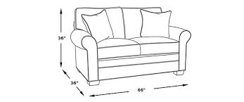 standard loveseat dimensions picking
