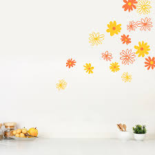 Daisy Wall Decals Daisy Flower Wall Stickers Wallums
