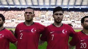 PES 2020 Türkiye Milli Takım Oyuncu Yüzleri Cengiz Ünder,Merih  Demiral,Çağlar Söyüncü - YouTube