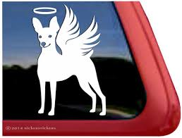 Custom Angel Memorial Miniature Pinscher Decals Stickers Nickerstickers
