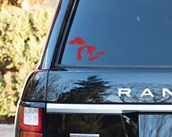 Amazon Com Great Lakes Of Michigan Premium Weatherproof Vinyl Car Decal Bumper Sticker Red Standard Arts Crafts Sewing