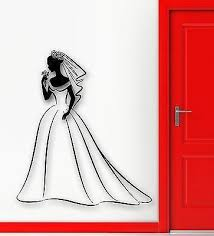Wall Sticker Vinyl Decal Wedding Family Registry Office Bride Girl Uni Wallstickers4you