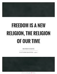 dom is a new religion the religion of our time picture quotes