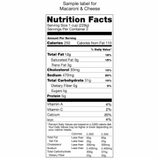 little potato pany nutrition facts