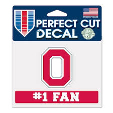 Ohio State University Car Decals Decal Sets Ohio State Buckeyes Car Decal C Bigtenstore Com