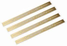 Decal Set Lip Set Brushed Gold Varrstoen Wheels