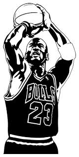 Michael Jordan Wall Sticker 44 X90 Contemporary Wall Decals By Masquevinilo