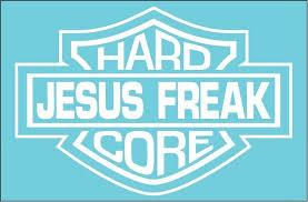 Hardcore Jesus Freak Vinyl Die Cut Decal And Similar Items