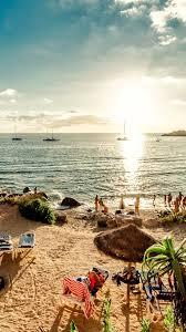 spain beach ibiza island sea