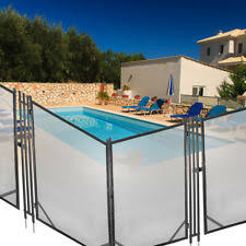 Above Ground Pool Safety Fence Base Kit A For Sale Online Ebay