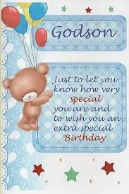 nice greetings birthday wishes for special godson nice wishes