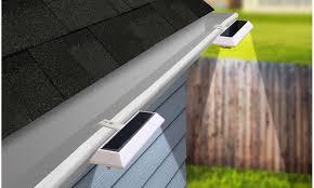 Nitebrite Solar Gutter Or Fence Lights 2 4 Or 10 Pack Groupon