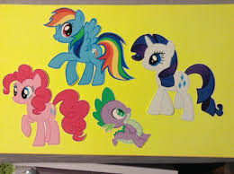 Home Furniture Diy Wall Decals Stickers 7 5 11 My Little Pony Fluttershy Wall Sticker Glossy Cut Out Border Character Mtmstudioclub Com