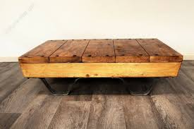 industrial rustic coffee table pallet
