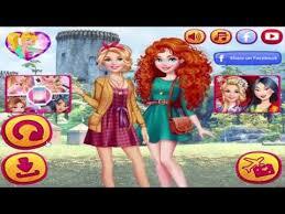 131116 barbie visit merida barbie and