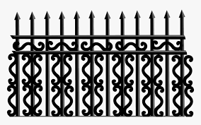 Iron Fence Svg Png Download Wrought Iron Fence Png Transparent Png Transparent Png Image Pngitem