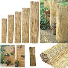 Screening Roll Reed Screen Fencing Garden Fence Panel Outdoor 4m Long Fence Ebay