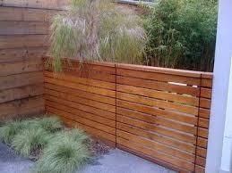 Menlo Park Modern Modern Landscaping Modern Fence Design Wood Fence Design