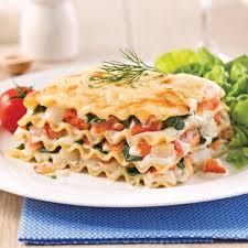 Seafood Lasagna - 5 ingredients 15 minutes