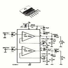 20 watts rms lifier using tda2004