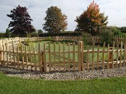 Garden Fencing Gallery Say It With Wood