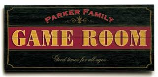 Game Room Signs Personalized Game Room Signs Man Cave Gifts