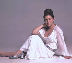 HD wallpaper: carrie fisher, looking at camera, one person, full length,  portrait | Wallpaper Flare