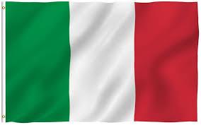 "3 ""X 5"" Besar Bahasa Italia Bendera Poliester Nasional Italia Banner  Kuningan Grommet Panas|italian flag|flags polyesterpolyester flag -  AliExpress"