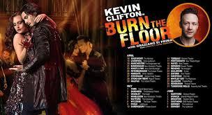 kevin clifton set to burn the floor in 2019