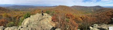 Hiking Rock Scrambling Bearfence Mountain Shenandoah National Park Chasqui Mom