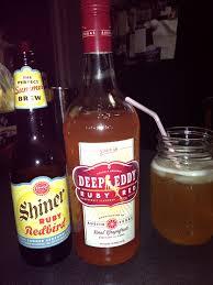 part deep eddy gfruit vodka part