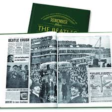 history of the beatles book historic