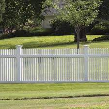 White Vinyl Fence End Cap Lowes
