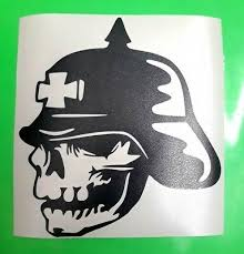 Auto Parts Accessories Skull 3 Car Decal Truck Window Sticker Iron Cross Motorcycle Army 20 Colors Smaitarafah Sch Id