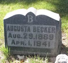 Augusta Nanke Becker (1869-1941) - Find A Grave Memorial