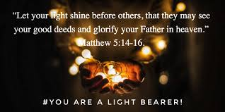 Morning Inspiration - YOU ARE A LIGHT BEARER! * bzioninspires