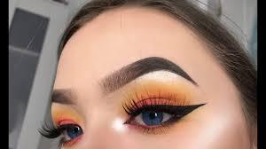 sunset makeup look makeup tutorial