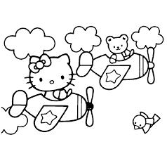 Kleurplaten Kleurplaat Verjaardag Hello Kitty