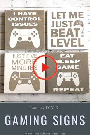Xbox One And Ps4 Gaming Signs Gaming Ps4 Signs Xbox In 2020 Boys Game Room Boys Room Signs Kids Room Sign