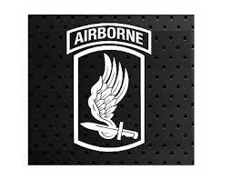 173rd Airborne Brigade Sky Soldiers Vinyl Window Decal Sticker Ebay