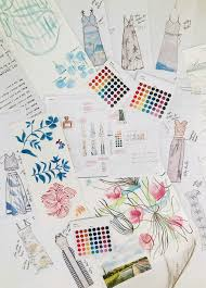 See How This Bride Designed 8 Custom Bridesmaids Dresses for Her  Picture-Perfect Wedding | Spoonflower Blog