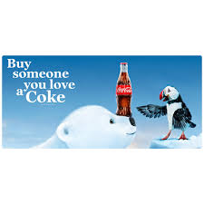 Buy Someone You Love A Coke Polar Bear Puffin Decal At Retro Planet