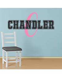 Get The Deal Boy S Custom Name And Initial Wall Decal Choose Your Own Name Initial And Letter Styles Multiple Sizes Nursery Custom Name And Initial Wall Decal Sticker Boy S Name Boy S Name